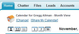 salesforce calendars, Salesforce Calendar sharing, Salesforce Partner, StarrForce