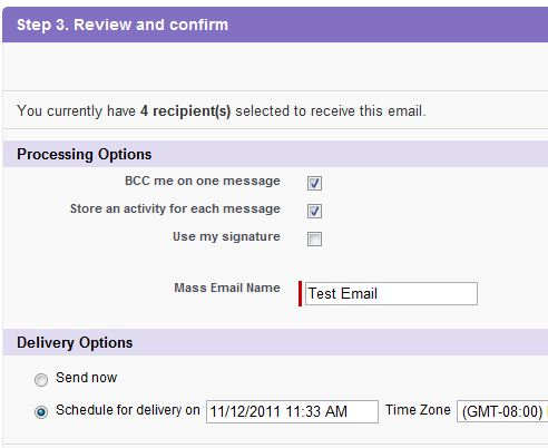 How To Set Up Salesforce Email Templates For Mass Emails, Part 2