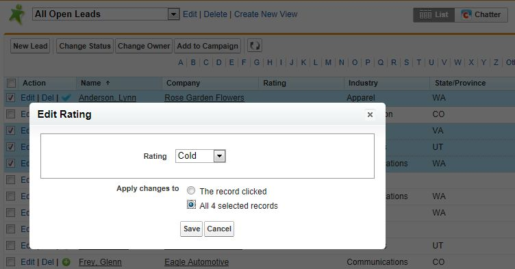 Salesforce List Views Tips