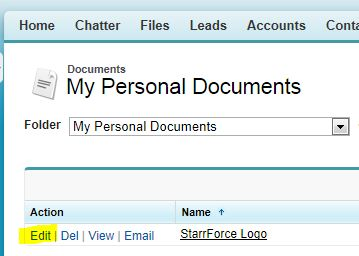 Salesforce Personal Folders, Salesforce Partner, Salesforce Consulting, StarrForce