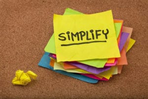 Simplify the Structuring of Your Data